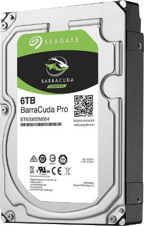 HD SEAGATE SATA 3,5' BARRACUDA PRO 6TB 7200RPM 256MB CHACHE SATA 6,0GB/S