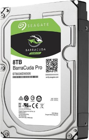 HD SEAGATE SATA 3,5' BARRACUDA PRO 8TB 7200RPM 256MB CHACHE SATA 6,0GB/S