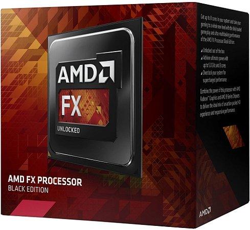 PROCESSADOR AMD FX 8300 BLACK EDITION 16MB CACHE 3.2GHZ AM3+