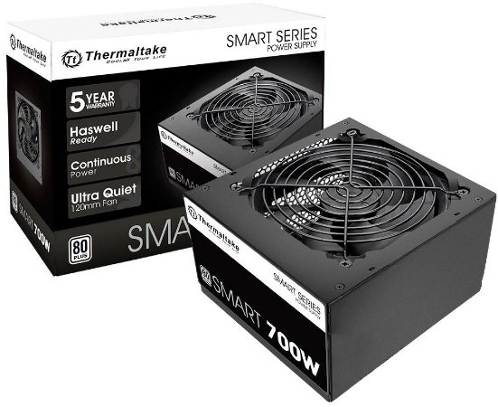 FONTE THERMALTAKE SMART 700W 80 PLUS PS-SPD-0700NPCWBZ-W