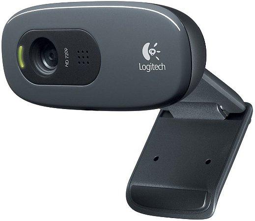WEBCAM LOGITECH C270 HD 720P