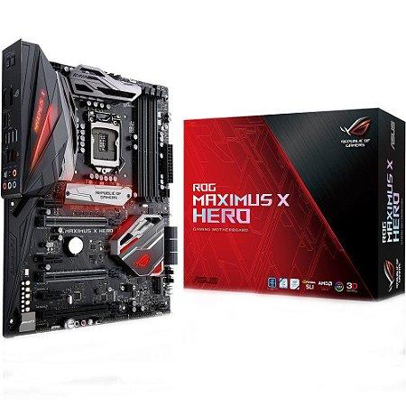PLACA MÃE ASUS ROG MAXIMUS X HERO Z370 DDR4 LGA 1151