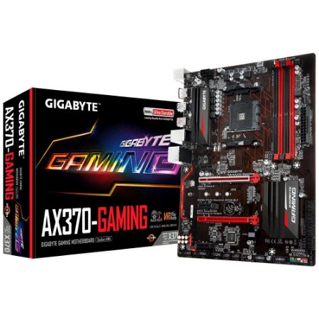 PLACA MÃE GIGABYTE AX370-GAMING DDR4 AM4
