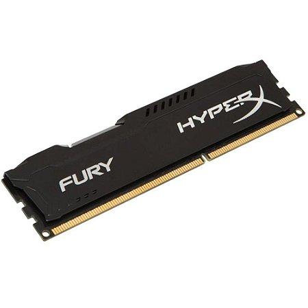 MEMÓRIA KINGSTON HYPERX FURY 4GB 1600MHz DDR3 CL10 Black Series - HX316C10FB/4