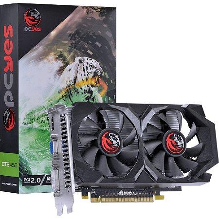 PLACA DE VÍDEO NVIDIA PCYES GEFORCE GTS 450 2GB GDDR5