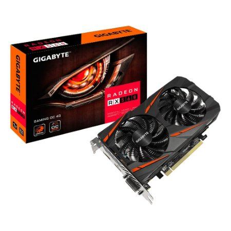 PLACA DE VÍDEO AMD GIGABYTE RADEON RX 560 4GB WINDFORCE OC