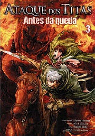 Ataque dos Titãs - Antes da Queda Vol.03