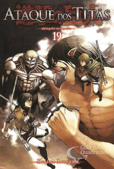 Ataque dos Titãs Vol.19