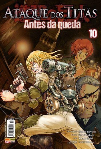 Ataque dos Titãs - Antes da Queda Vol.10