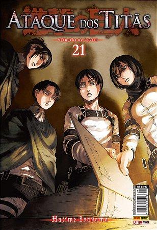 Ataque dos Titãs Vol.21