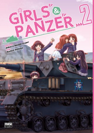 Girls & Panzer Vol.02