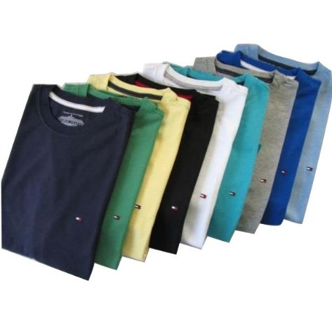 KIT 30 CAMISETAS MANGA CURTA TOMMY HILFIGER