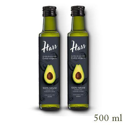 Azeite de Avocado Hass (caixa com 2) - 500ml