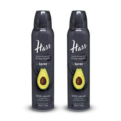 Kit - Azeite de Avocado Hass Spray (2 Unid)