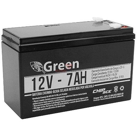 BATERIA SELADA 12V - 7A GREEN