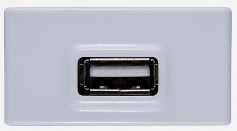 MODULO TOMADA USB PARA LINHA LIZ OU LUX2 TRAMONTINA