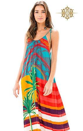 Vestido Longo Estampado Sunshine Salinas
