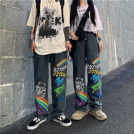 Calça Streetwear GRAFFITI