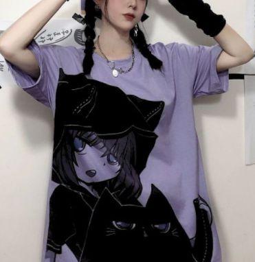 Camiseta GATINHO KAWAII