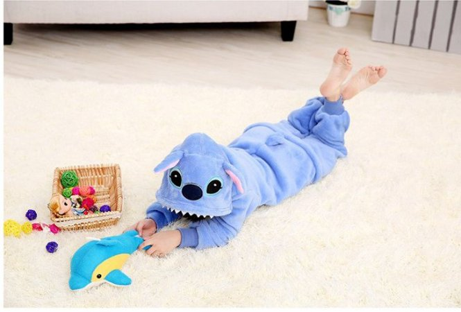 Kigurumi Infantil Stitch