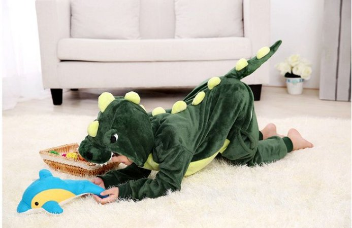 Kigurumi Infantil Dinossauro