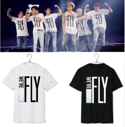 9f7dbb6c0d93e Camiseta Kpop GOT7 - Duas Cores - MobWay Store