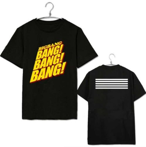 0d6b66554d555 Camiseta Kpop Big Bang Bang! Bang! - Duas Cores - MobWay Store