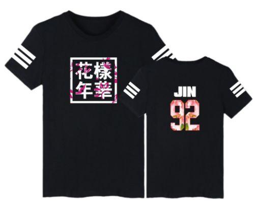 6b1db6e4b9bd0 Camiseta BTS - Logo Coreana - Jin   Jung Kook - MobWay Store