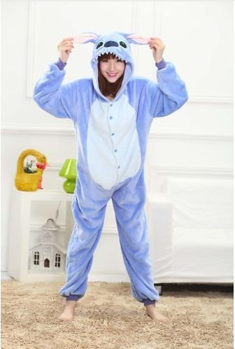 Pijama Kigurumi do Stitch