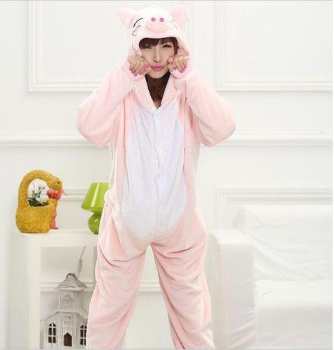 Pijama Kigurumi Miss Piggy