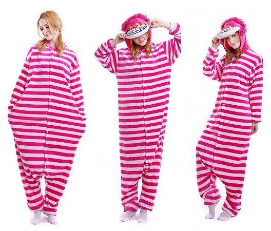 Pijama Kigurumi do Cherise (Alice no País das Maravilhas)