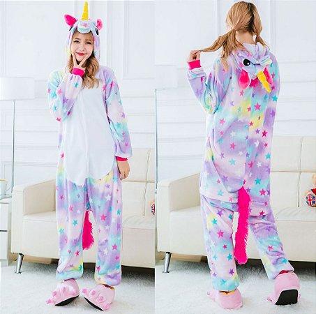 Pijama Kigurumi de Unicórnio Super Star
