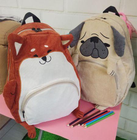 Mochila Pug & Akita