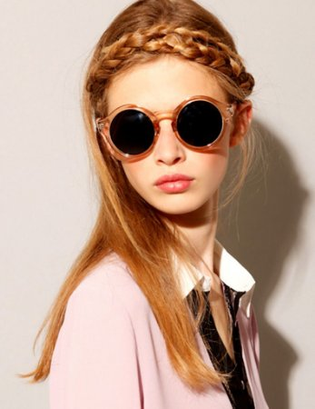 d19e2d6a4a128 Óculos Vintage Redondo - Várias Cores - MobWay Store
