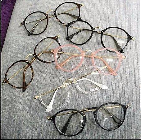 248416df6ef8a Óculos Vintage Circles - Várias Cores - MobWay Store