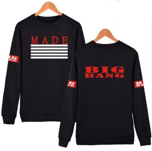 a86c07950801c Moletom Kpop BIG BANG - Album MADE - Várias Cores - MobWay Store