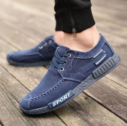 Sapatênis Jeans Sport