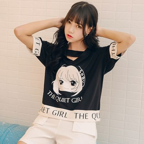 Blusa THE QUIET GIRL