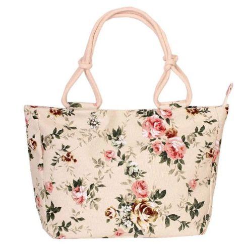 Bolsa de Lona FLORAL BAG - Várias Estampas