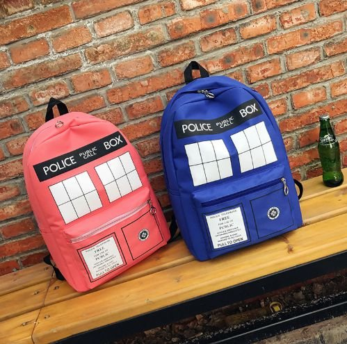Mochila Doutor Who TARDIS