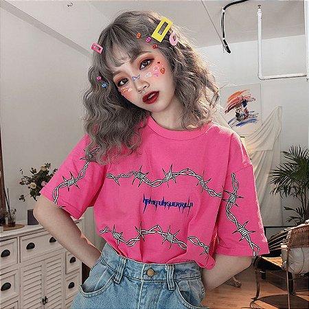 Camiseta CUTE GUERRILA em Duas Cores