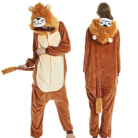 Pijama Kigurumi de Leão