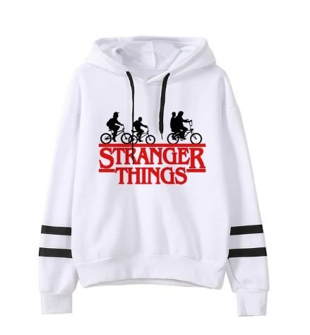 Moletom Hoodie STRANGER THINGS - Várias Estampas