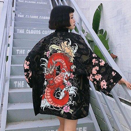 Kimono do Dragão Vermelho