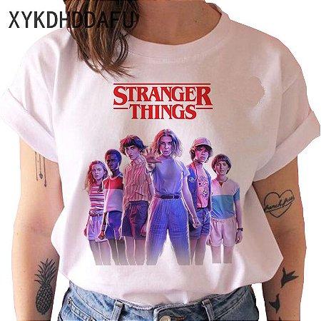 Camiseta STRANGER THINGS - Diversas Estampas