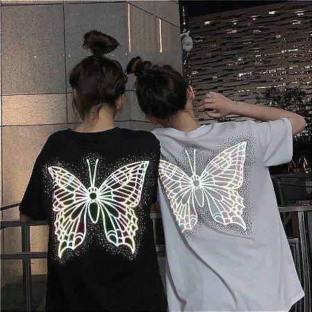 Camiseta BORBOLETA LUMINA - Duas Cores