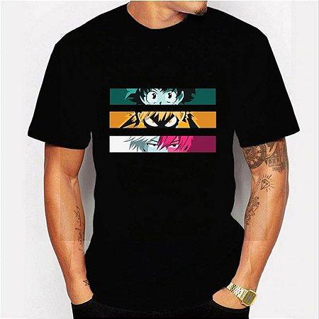 Camiseta MY HERO ACADEMY - Duas Cores