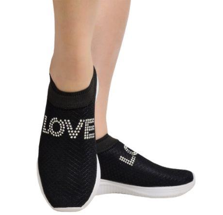 Tênis LOVE Slip-on