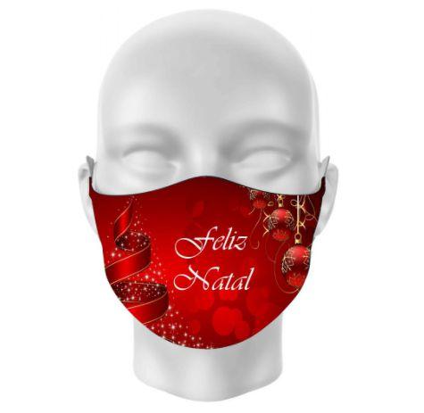 Máscara de Tecido NATAL & ANO NOVO