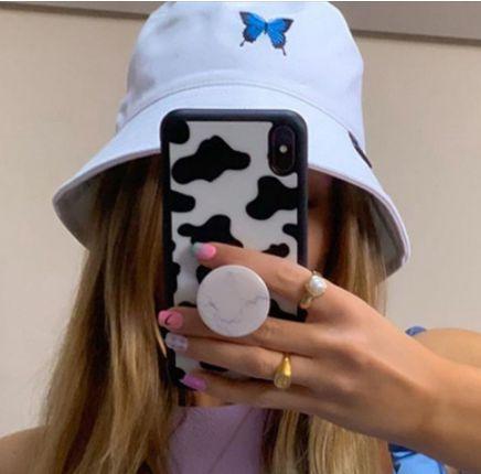 BUCKET HAT Borboleta Azul